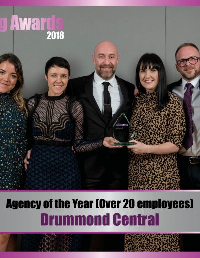 Agency of the Year (over 20 employees) - Drummond Central