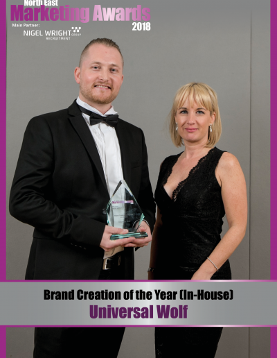 Brand Creation of the Year (In-House) - Universal Wolf